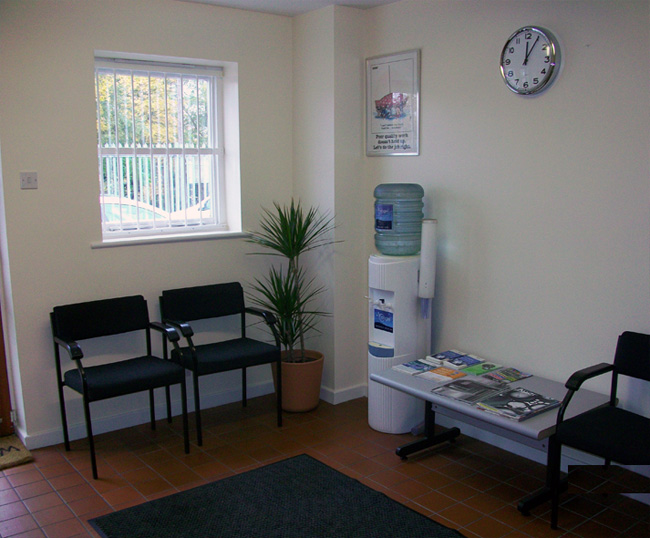 A & S Motors Waiting Room